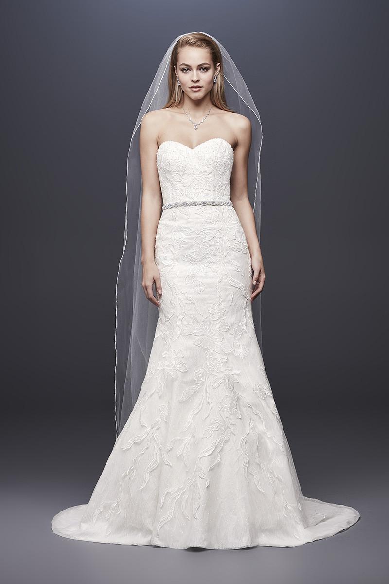 Galina Signature Style Swg810 Mermaid Wedding Dress By