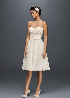 White by Vera Wang Style VW351322, David's Bridal