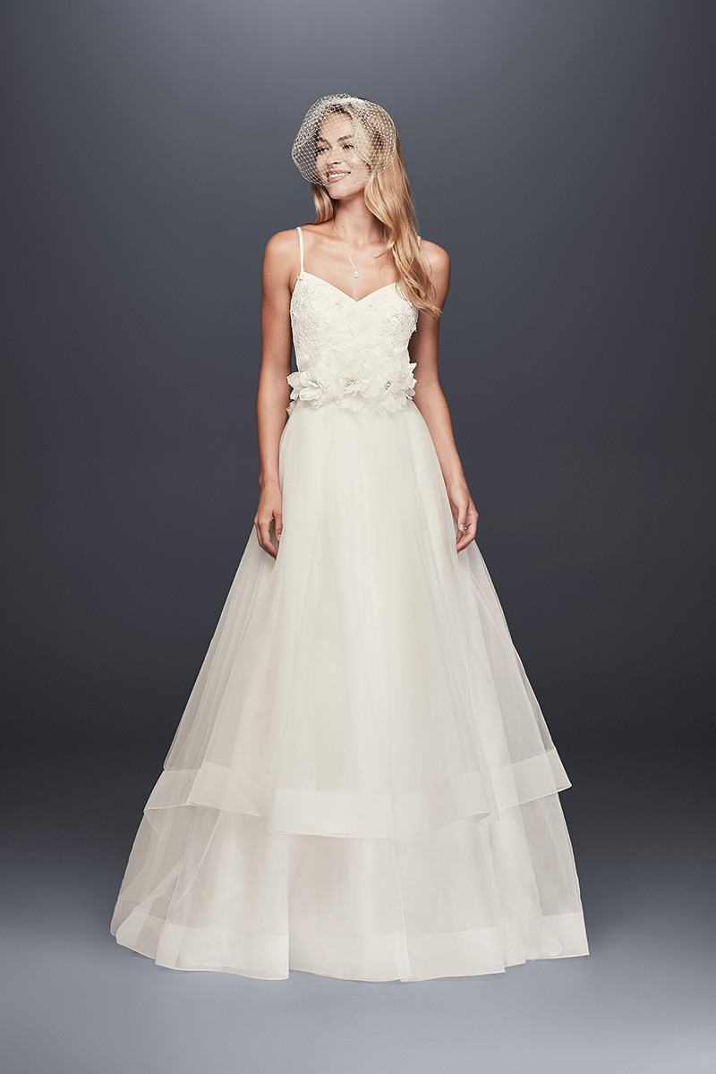 galina wg3890 ball gown wedding dress by david u0026 39 s bridal
