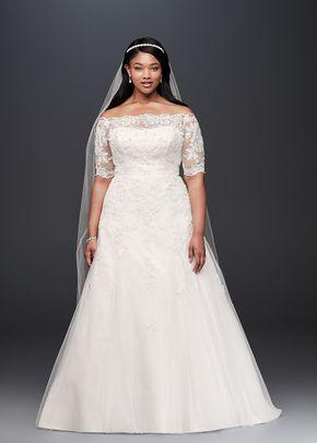 David's Bridal Collection Style  EJ8M7573, David's Bridal