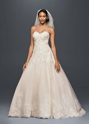 Jewel Style V3836, David's Bridal