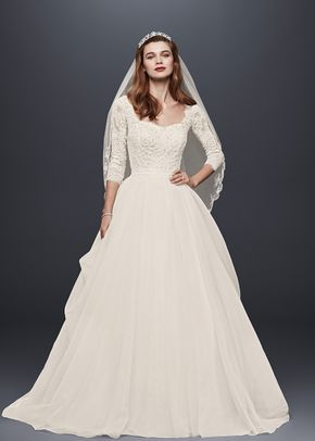 White by Vera Wang VW351263, David's Bridal