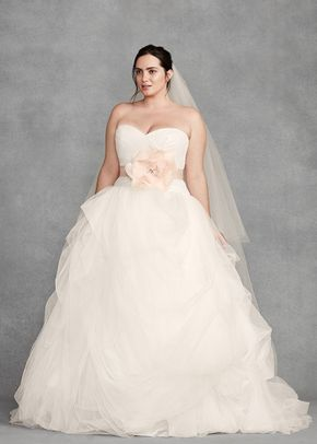 White by Vera Wang Style 8VW351339, David's Bridal