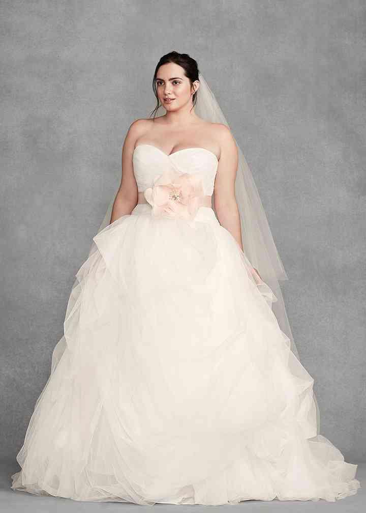White by Vera Wang Style 8VW351339, David's Bridal