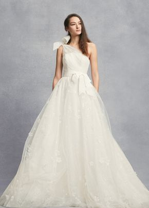 White by Vera Wang Style 8VW351432, David's Bridal