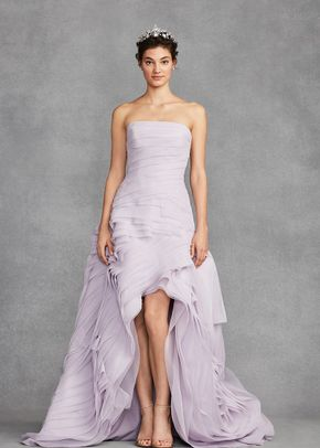 White by Vera Wang Style VW351422, David's Bridal