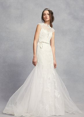 White by Vera Wang Style VW351427, David's Bridal
