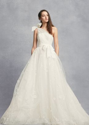 White by Vera Wang Style VW351432, David's Bridal