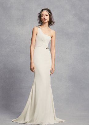 White by Vera Wang Style VW351434, David's Bridal