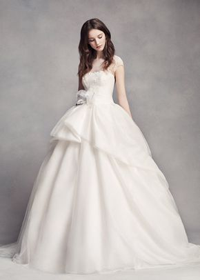 White by Vera Wang VW351315, David's Bridal