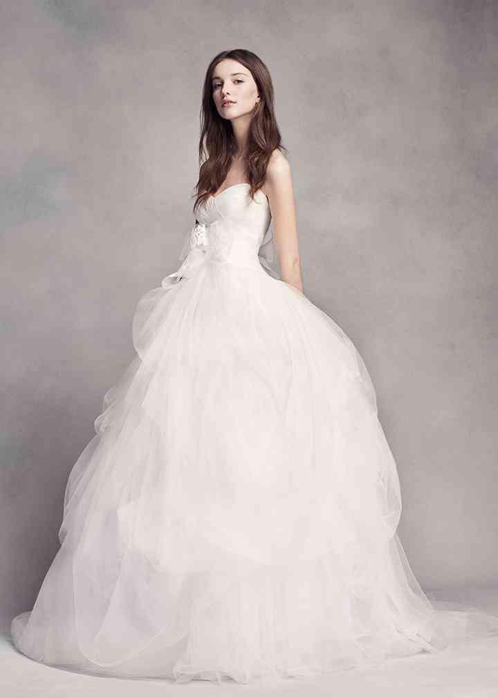 White by Vera Wang VW351339, David's Bridal