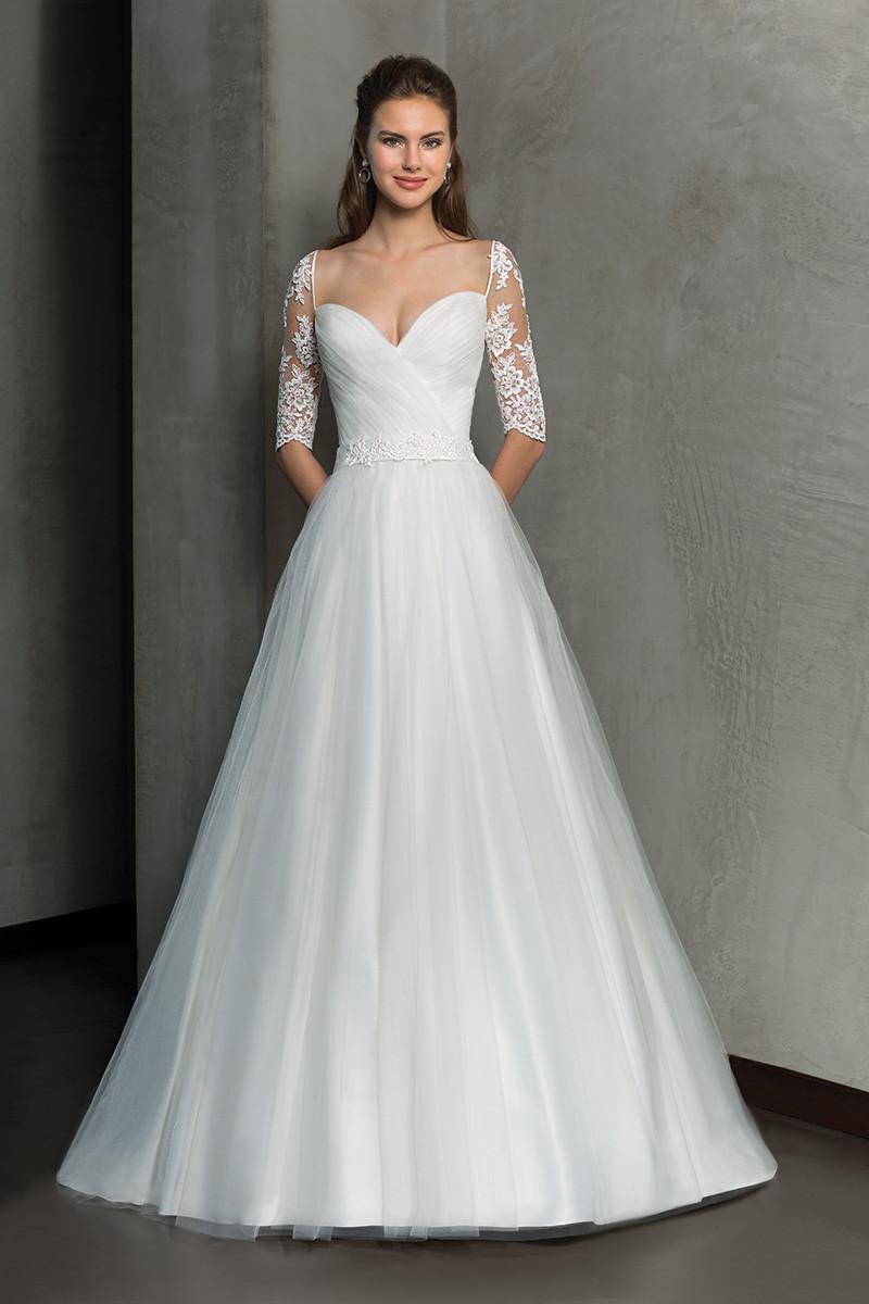 3/4 Sleeve Wedding Dress Photos, 3/4 Sleeve Wedding Dress