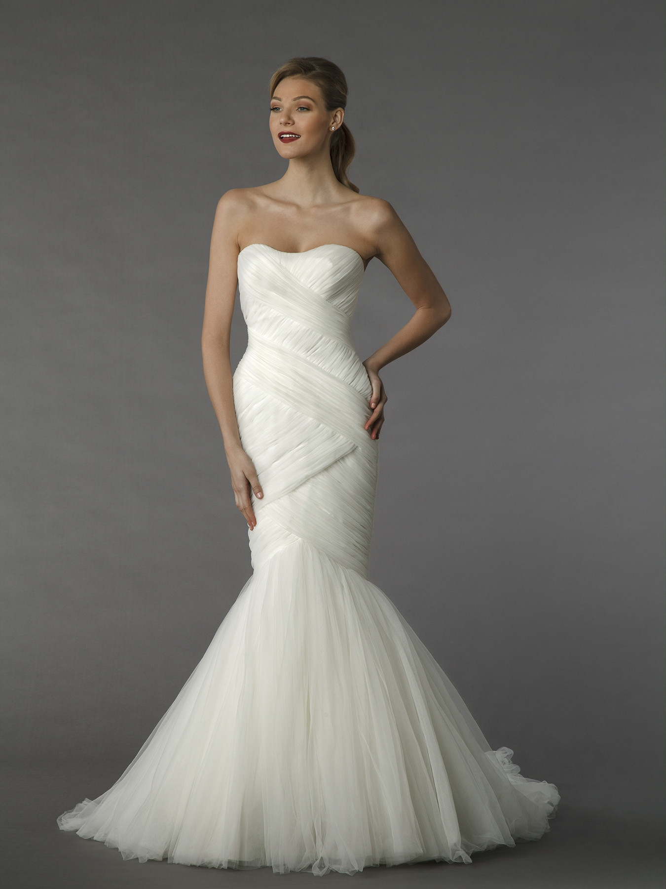 Dennis basso for kleinfeld wedding dresses dennis basso for Kleinfeld mermaid wedding dresses