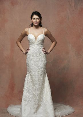 ES858 Rose, Enaura Bridal