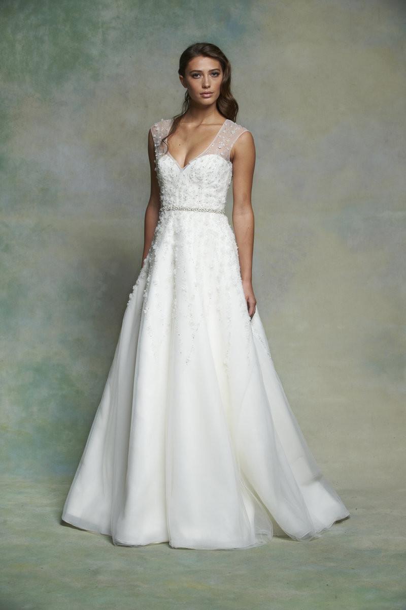 ES553 A-line Wedding Dress by Enaura Bridal - WeddingWire.com - photo #37