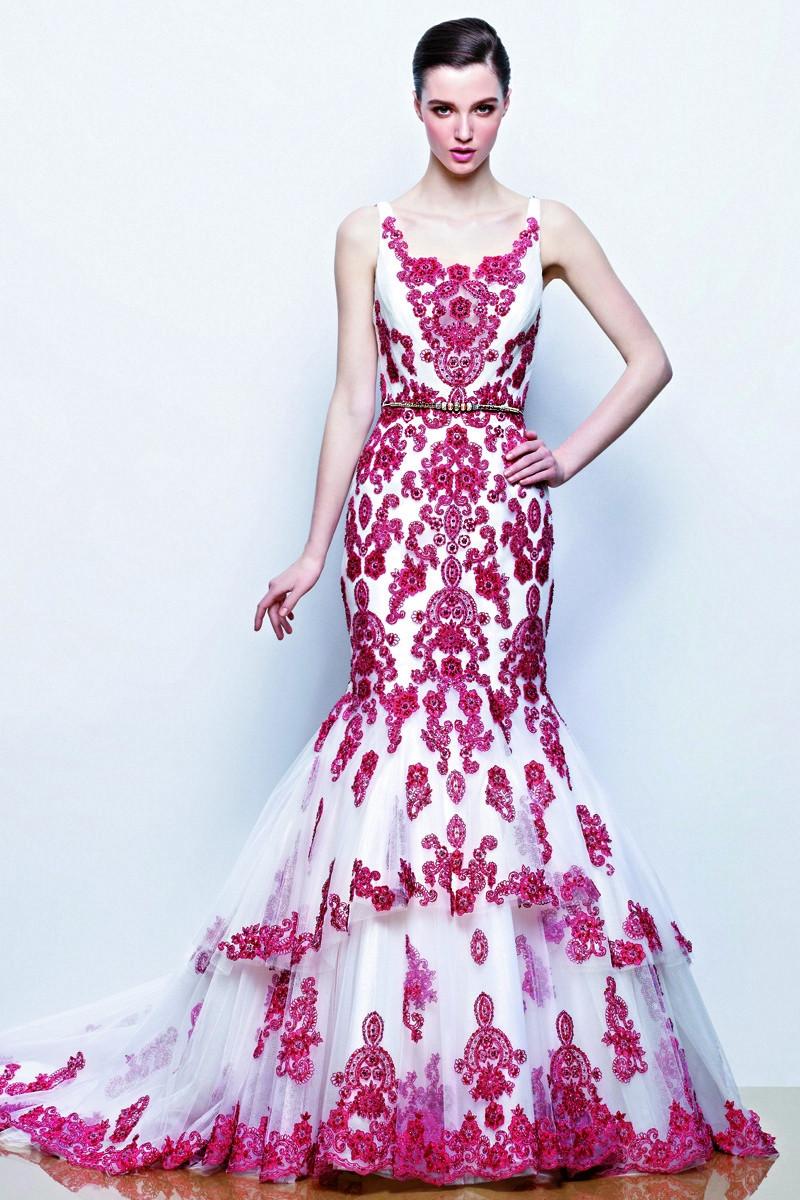 Multicolor Wedding Dress Photos, Multicolor Wedding Dress ... - photo #35