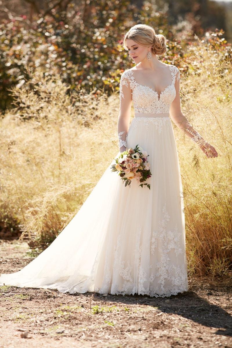 D2038 A-line Wedding Dress By Essense Of Australia
