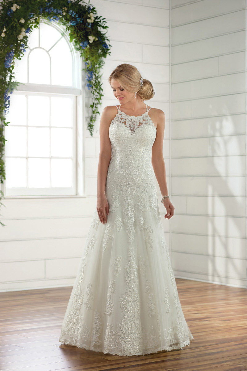 Halter Wedding Dress Photos, Halter Wedding Dress Pictures ... - photo #50