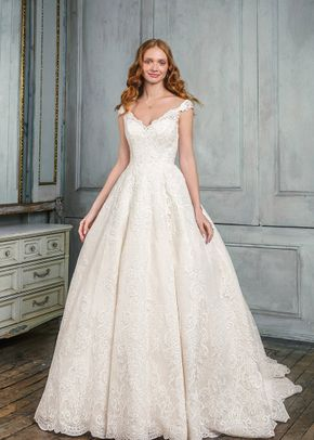 9847 Ball Gown Wedding Dress By Justin Alexander Signature