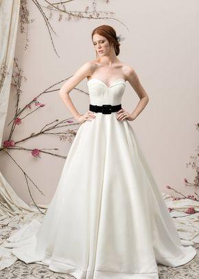 9847 Ball Gown Wedding Dress By Justin Alexander Signature