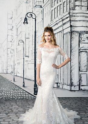 8866 a line wedding dress by justin alexander. Black Bedroom Furniture Sets. Home Design Ideas