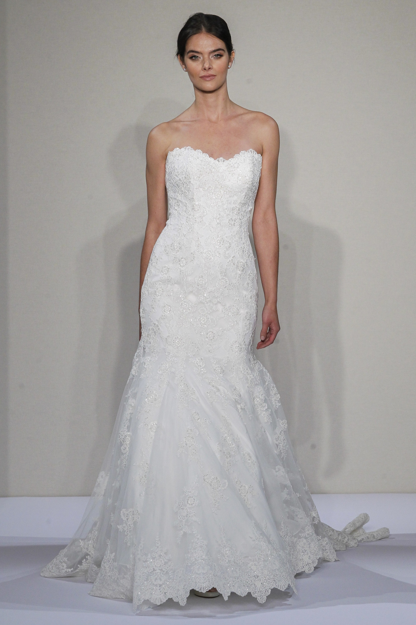 14082 nan wedding dress by kleinfeld collection for Kleinfeld mermaid wedding dresses