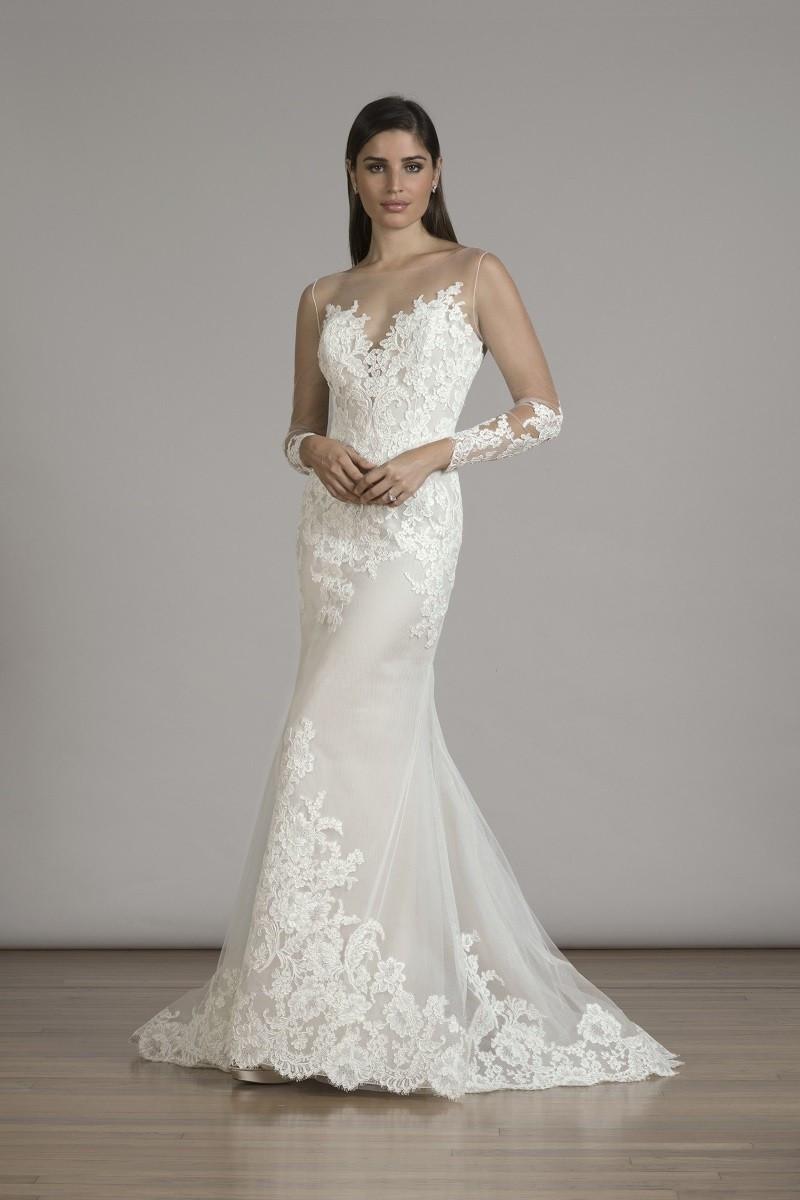 6833X Mermaid Wedding Dress by Liancarlo - WeddingWire.com - photo #24