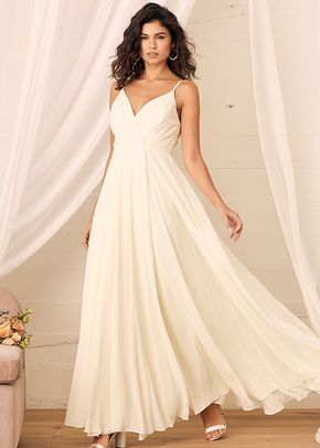 All About Love Cream Maxi Dress, 4413