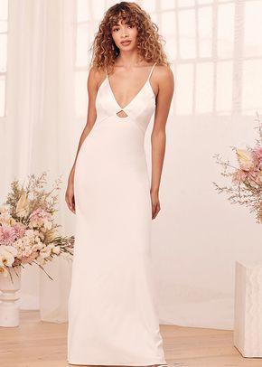Celebrate Our Love White Sleeveless Maxi Dress, Lulus Bridal