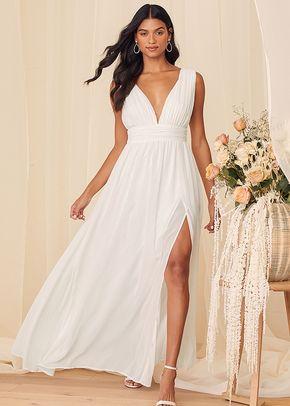 Heavenly Hues White Maxi Dress, 4413