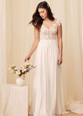 Loving You Truly White Beaded Embroidered Cap Sleeve Maxi Dress, 4413