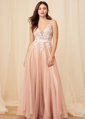 Beloved One Mauve Sequin Embroidered Tulle Backless Maxi Dress, Lulus Luxe Bridal