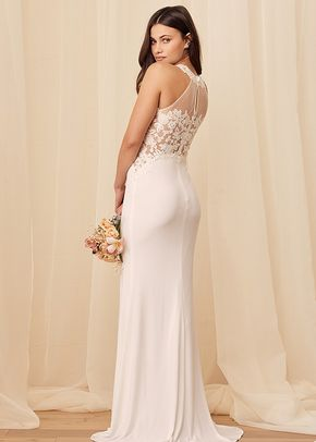 Fated to Forever White Embroidered Mermaid Maxi Dress, Lulus Luxe Bridal