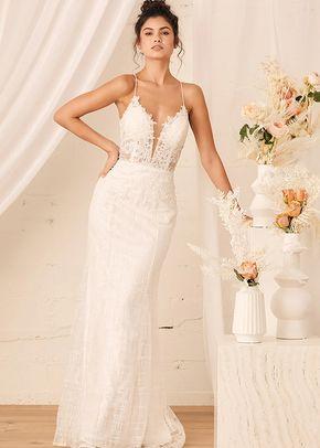 Wonderstruck White Glitter Lace-Up Embroidered Lace Maxi Dress, 4411