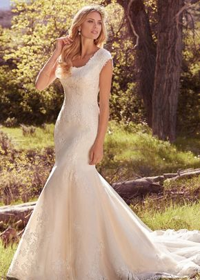 Zulani Ball Gown Wedding Dress By Maggie Sottero