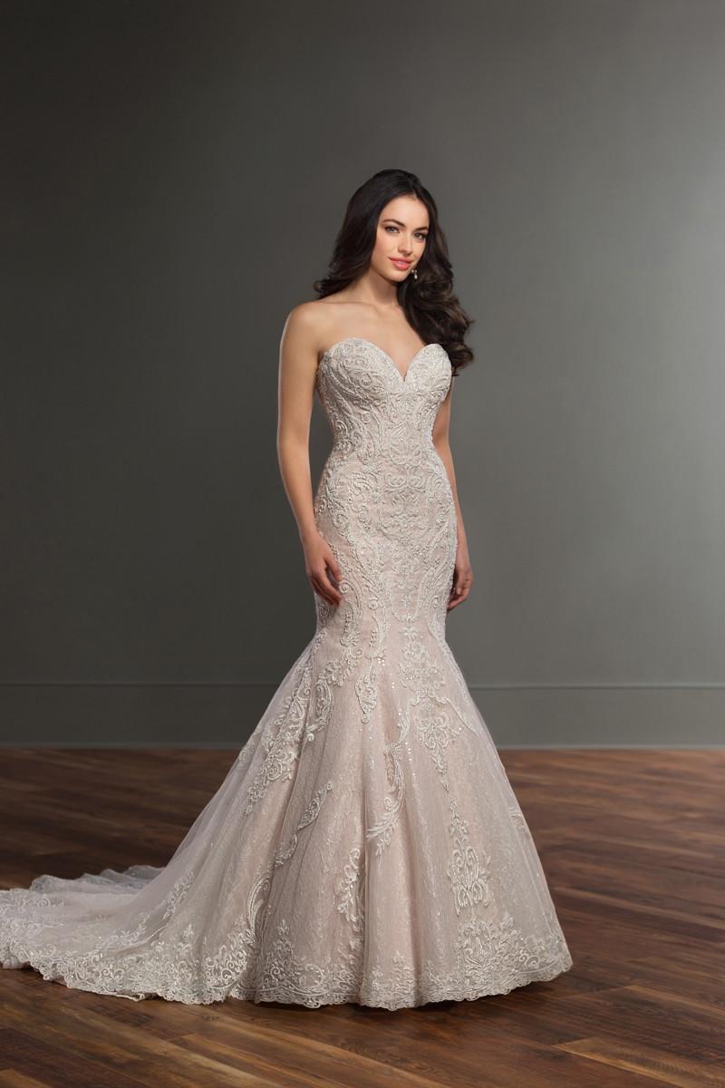 895 mermaid wedding dress by martina liana weddingwirecom