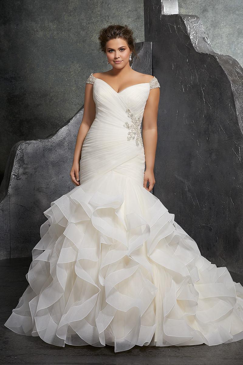 Ruffles Wedding Dress Photos, Ruffles Wedding Dress ... - photo #47