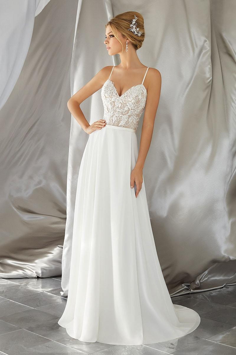 Chiffon Wedding Dress Photos, Chiffon Wedding Dress ... - photo #2