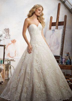 6868 Sheath Wedding Dress By Morilee By Madeline Gardner