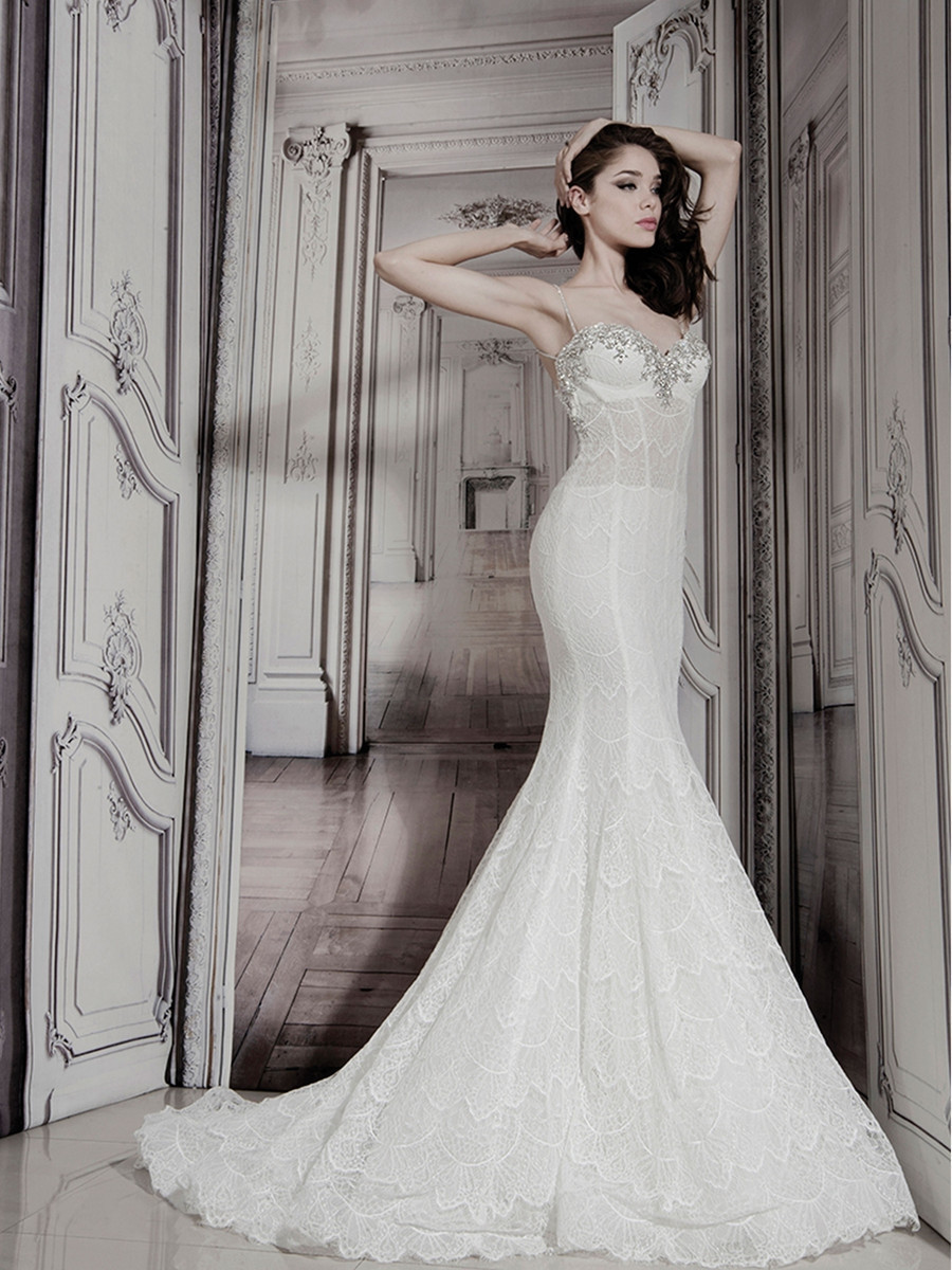 32848178 mermaid wedding dress by pnina tornai for for Pnina tornai wedding dresses prices