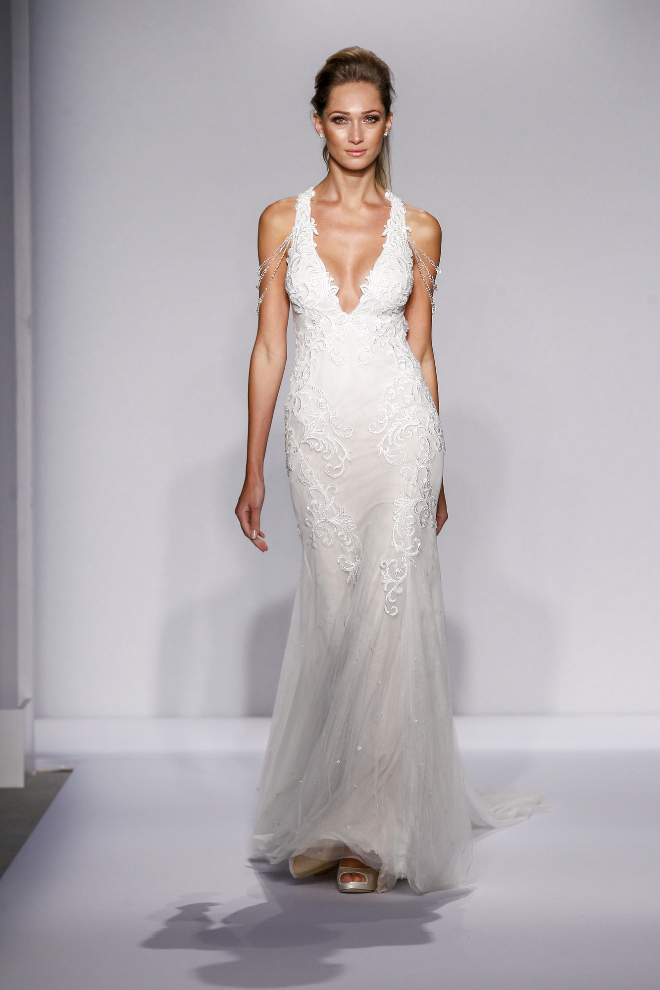 Fw16 pninatornai 111 mermaid wedding dress by pnina tornai for Pnina tornai wedding dresses prices
