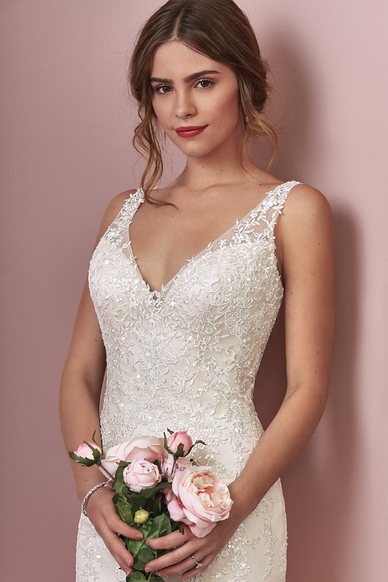 Elora Flared Cut Fit N Flare Wedding Dress By Rebecca