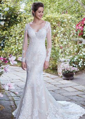 Piper Sheath Wedding Dress By Rebecca Ingram Weddingwire Com