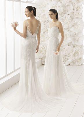 Astrid Mermaid Wedding Dress By Rosa Clara Weddingwire Com