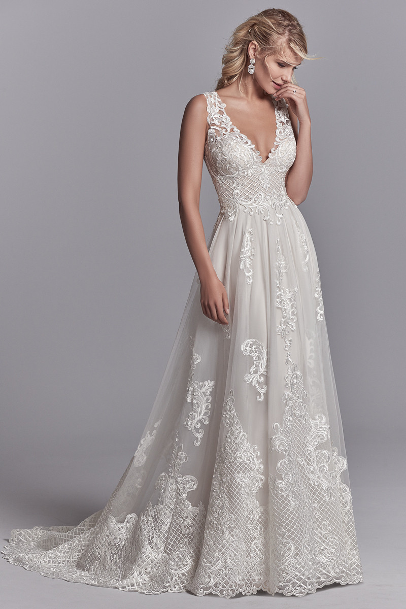 Oliver A Line Wedding Dress By Sottero Amp Midgley