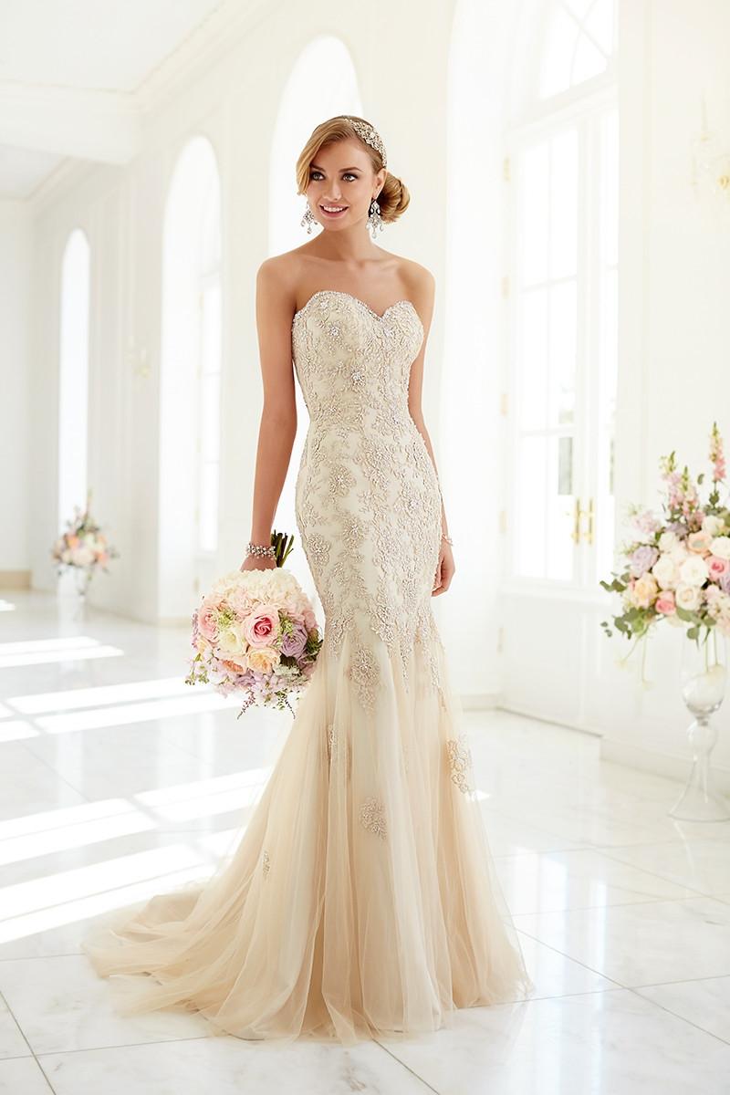 5986 Mermaid Wedding Dress by Stella York - WeddingWire.com - photo #32