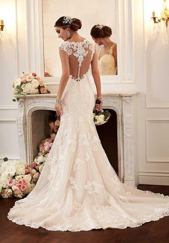 6146 Flared Cut Fit N Flare Wedding Dress By Stella York Weddingwire Com