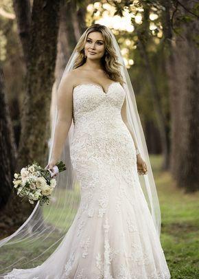 6182 Sheath Wedding Dress By Stella York Weddingwire Com