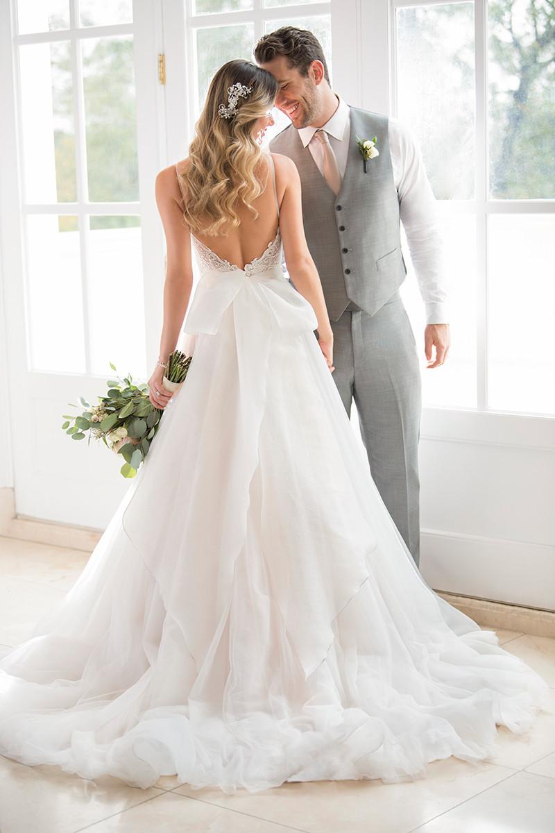 Spaghetti Straps Wedding Dress Photos Spaghetti Straps Wedding