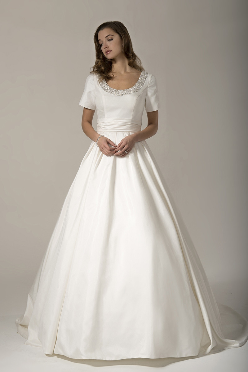 Tb7732 Ball Gown Wedding Dress By Venus Bridal